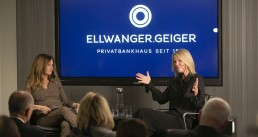 Ellwanger & Geiger Präsentation vor Publikum