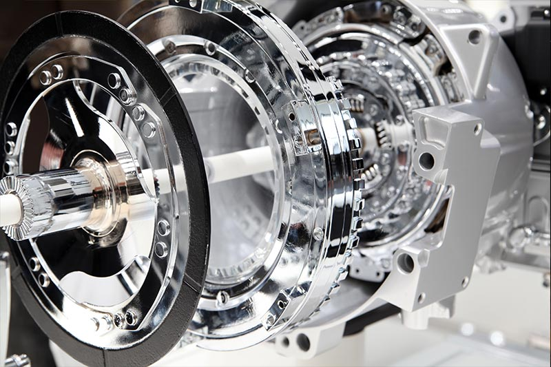 Motor Kupplung Futuristisches Modell
